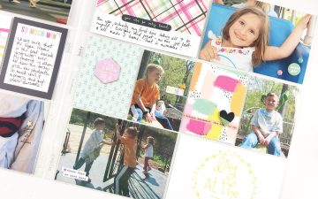 Larkindesign An Event Based Layout | 2012 Project Life February