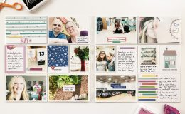 Larkindesign Project Life 2019 May Monthly ft Elles Studio Kits