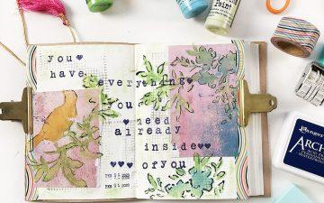 Larkindesign Art Journal Volume 04 Layout | Everything You Need