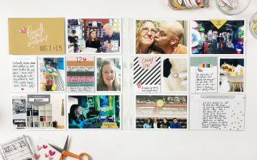 Larkindesign Project Life 2019   August Bi Monthly   ft Studio Calico