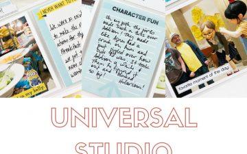 Larkindesign Disney 2020 Album | Documenting Universal | Breakfast With The Minions