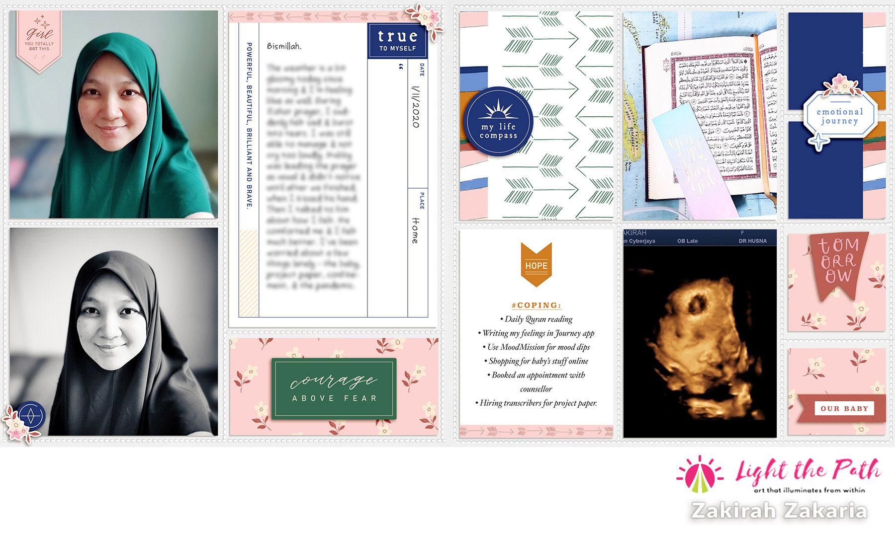 Light The Path 2021 Design Team Zakirah Zakaria November Introduction